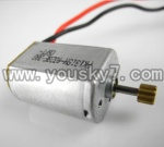 CX-009-parts-12 Main motor with long shaft and gear