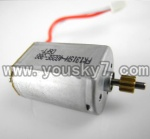 CX-009-parts-13 Main motor with short shaft and gear