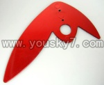 CX-009-parts-45 Verticall wing-Red