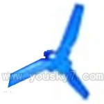 CX-009-parts-49 Tail blade-Blue