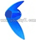 CX-009-parts-50 Verticall wing-Blue