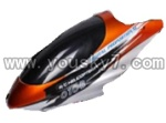 CX-010-parts-02 Head cover(Orange)