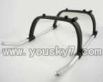 CX-017-helicopter-05 Landing  skid