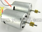 CX-017-helicopter-16 Main motor with shaft and gear(2pcs)