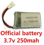 Holy Stone F180C F180D Parts-16 Official 3.7v 250mah battery(1pcs)