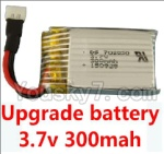 Holy Stone F180C F180D Parts-17 Upgrade 3.7v 300mah battery for the DFD F180C F180D Quadcopter(1pcs)