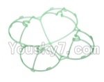 Holy Stone F180C F180D Parts-34 Outer protect frame-Green