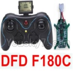 Holy Stone F180C F180D Parts-36 Transmitter & Circuit board