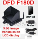 Holy Stone F180C F180D Parts-43 Aerial unit(5.8G imagetransmission LCD display,Memory Card,Reader,USB Charger)
