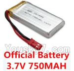 Holy Stone F181-Parts-11 Official F181 3.7V 750MAH Battery