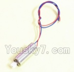 Holy Stone F181-Parts-27 rotating Motor with red and Blue wire(1pcs)