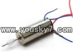 fq777-138-parts-16 Main motor with long shaft and white gear