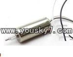 fq777-138-parts-17 Main motor with short shaft and White gear