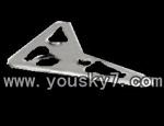 fq777-138-parts-27 Horizontal Wings(Gray)