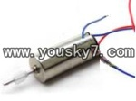 FQ777-3217-parts-13 Main motor with long shaft and white gear