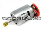 FQ777-377-helicopter-parts-08 Front Main motor A with long shaft