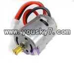 FQ777-377-helicopter-parts-09 Rear main motor B with short shaft
