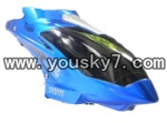 fq777-513-parts-02 Hover,Head cover(Blue)