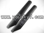 fq777-513-parts-04 Lower main rotor blades(2B)