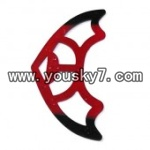 FQ777-701-helicopter-parts-13 Horizontal wing(Red)