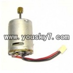 FQ777-701-helicopter-parts-16 Main rotor motor A with long shaft