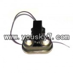 FQ777-701-helicopter-parts-35 decorative light of nose