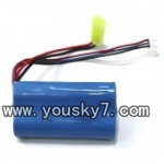 FQ777-701-helicopter-parts-41 battery 7.4v 1500ma 15c