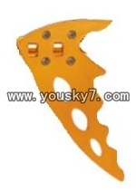 FQ777-999A-helicopter-parts-29 Vertical wing(Golden)