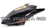 H227-21-parts-03 Hover,Head cover(Square shape black)