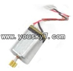 H227-21-parts-18 Tail motor with copper gear