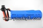 H227-21-parts-21 Battery 3.7v with black plug