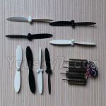 Fayee FY530 parts-20 Propellers,Main rotor blades(8pcs) & Whole motor set(4pcs)