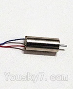 Fayee-FY550-parts-09 rotating Motor with red and Blue wire(1pcs-Not include gear)