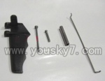 FT007-Boat-parts-12 Steering rudder wing  unit