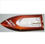 FT009-parts-01 Hull-Red