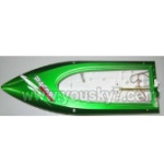 FT009-parts-02 Hull-Green