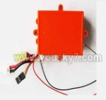FT009-parts-06 Circuit board with box-Red