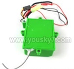 FT009-parts-07 Circuit board with box-Green