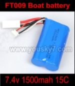 FT009-parts-08 7.4v 1500mah battery
