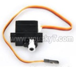 FT009-parts-10 Steering gear components