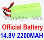 Feilun FT011 Boat Parts-06 Official 14.8V 2200MAH 30C Battery
