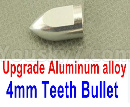 0-4mm Teeth Bullet,Upgrade Aluminum alloy Bullet
