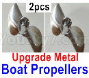 Feilun FT011 Upgrade Parts-Upgrade Metal Propellers(2pcs)