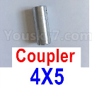Feilun FT012 Upgrades-Coupler-4X5mm-Silver