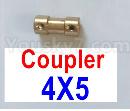 Feilun FT012 Upgrades-Coupler-4X5mm-Golden