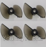 Feilun FT012 parts-05 Rotor blade(4pcs)