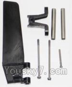 Feilun FT012 parts-15 Rudder unit