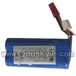FX060-parts-16 Battery 7.4v 1500mah with red plug