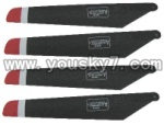 FX037-helicopter-parts-02 Main rotor blades(4pcs)