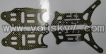 FX037-helicopter-parts-29 Main metal frame(4pcs)